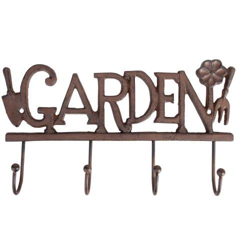Haken für Gartengeräte Motiv - Garden