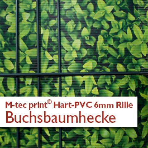"""""""M-tec print""""® Hart-PVC Streifen bedruckt mit Sandsteinmauer - Motiv"""