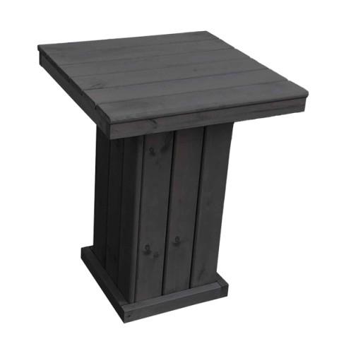 Holztisch klein St. Peter Ording anthrazit