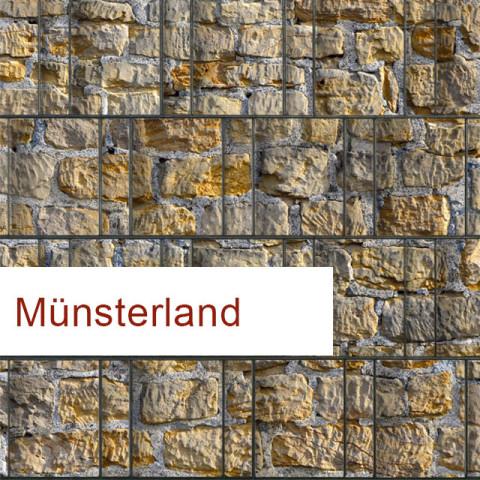Sichtschutzstreifen Motiv Münsterland PES / Polyester
