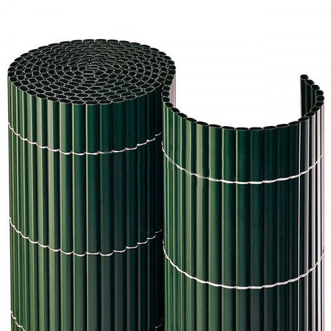 Balkonsichtschutzmatte Kompakt PVC - grün