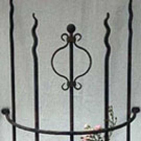 Pflanzgerüst Garten - Typ Wales - Round