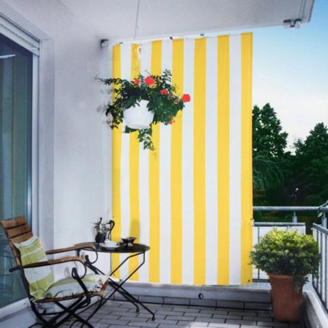 Senkrecht Sonnensegel für Balkone