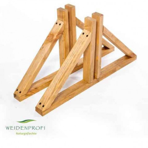 Paravent Holzstandfuß für Elemente bis 3 cm Breite