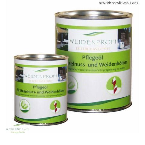 Pflegeöl für Holzzäune im Außenbereich