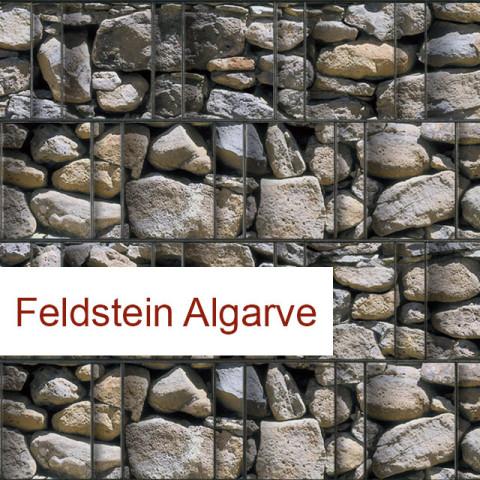 Polyester Sichtschutzrolle Feldstein Algarve
