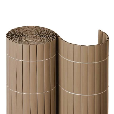 Balkon Kunststoffsichtschutzmatte Rolle | sand