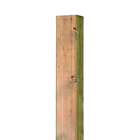Zaunpfosten Natur für Bambus-Elemente