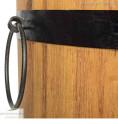 Pflanzkübel aus Robinie Detail