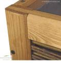 Balkon Hochbeet | Kiefernholzrahmen gute Verarbeitung