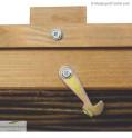Balkon Hochbeet - Detail Dekelverschluss