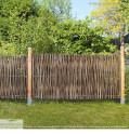 Haselnuss Flechtzaun Universal Garten-Zaun