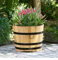 Pflanzkübel aus Robinie - Anwendungsbild