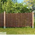 Zaunelement Natursichtschutz Weidenzäune Natur Rustikal