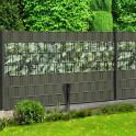Sichtschutz Weich PVC Athrazit + M-tec Print Aukube