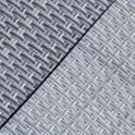 Rattangeflecht Sichtschutzstreifen B-Ware silbern | Farbabweichungen - Druckstellen