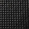 Balkonblende PVC Rattangeflecht-schwarz