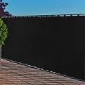 Balkonblende mit Befestigungsösen in  anthrazit