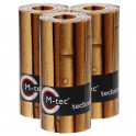 M-tec print bedruckte Zaunstreifen Bambus-9er Pack