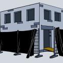 Bausichtschutz schwarz
