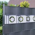 Dekor Hart-PVC Sichtschutzstreifen |  Motiv Berlin