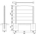 Aufbauanleitung Betonzaun Standard