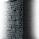 Betonzaunsystem Rockstone Eckpfosten anthrazit 245x12x12,5