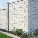 Betonzaunsystem Rockstone mit Pfosten