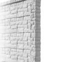 Betonzaunsystem Rockstone Anfangspfosten betongrau 245x12x12,5