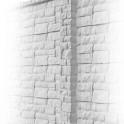 Betonzaunsystem Rockstone  Zwischenpfosten betongrau 245x12x12,5