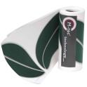 M-tec Design Streifen Motiv Blatt | weiß - grün
