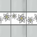 Kreativstreifen Edelweißblüte