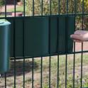 Einflechten von Weich PVC Sichtschutzstreifen