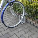 Fahrradständer für Gittermattenzaun