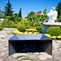 Feuerschale Pan2 - unlackiert dekorativ im Garten