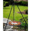 Garten Schwenkgrill mit Grillrost aus Stahl