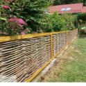 Robiniengeflecht Circo Komfort - auch als niedriger Zaun