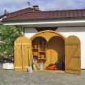 Geräteschrank Roma groß - Doppeltür offen