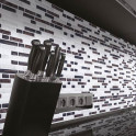 Klebefolie Mosaikfolie weiss-braun Marmoroptik
