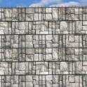 Granitmauer Optik im Gittermattenzaun
