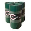 M-tec matt Exklusiv Grün vorkonfektioniertes Komfort Pack mit Klemmschienen
