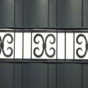 PVC Design Streifen Motiv Merano  - weiß | anthrazit