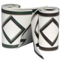 2 Farben Rollen PVC Design Streifen Motiv Hamburg