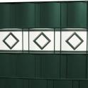 Design Motiv Hamburg weiß | grün