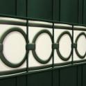 PVC Design Streifen Motiv Berlin Detail