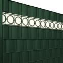 PVC Design Streifen Motiv Berlin in grün