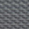 Sichtschutzzaun Hart - PVC Zaunblendstreifen anthrazit 9,5cm