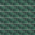 Sichtschutzzaun - Hart - PVC Zaunblendstreifen moosgrün 9,5cm