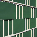 Detail - Hart - PVC Zaunblendstreifen moosgrün 9,5cm