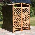 Wetterschutzplane für Holzlager Romantica Wood als Zubehör erhältlich